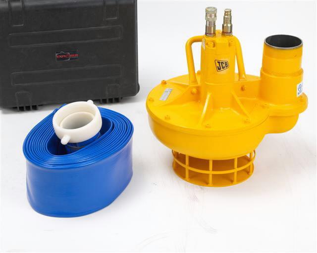 Hydraulic trash pump for  Beaver, JCB