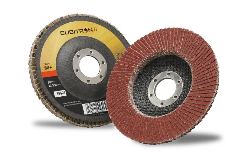 Cubitron II 967A vėduoklinis diskas kūginis 125mm P40+, 3M
