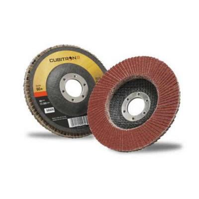 Cubitron II 967A vėduoklinis diskas plokščias 125mm P60+, 3M