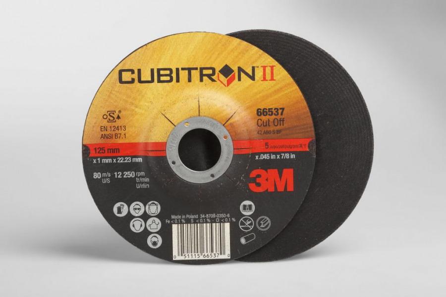 Lõikeketas 125x1mm Cubitron II T41, 3M