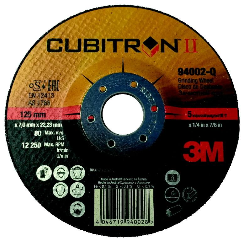 Cubitron II šlifavimo diskas T27 125x7mm, 3M