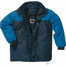 Žieminė striukė Alaska tamsiai mėlyna/šviesiai mėlyna, Delta Plus