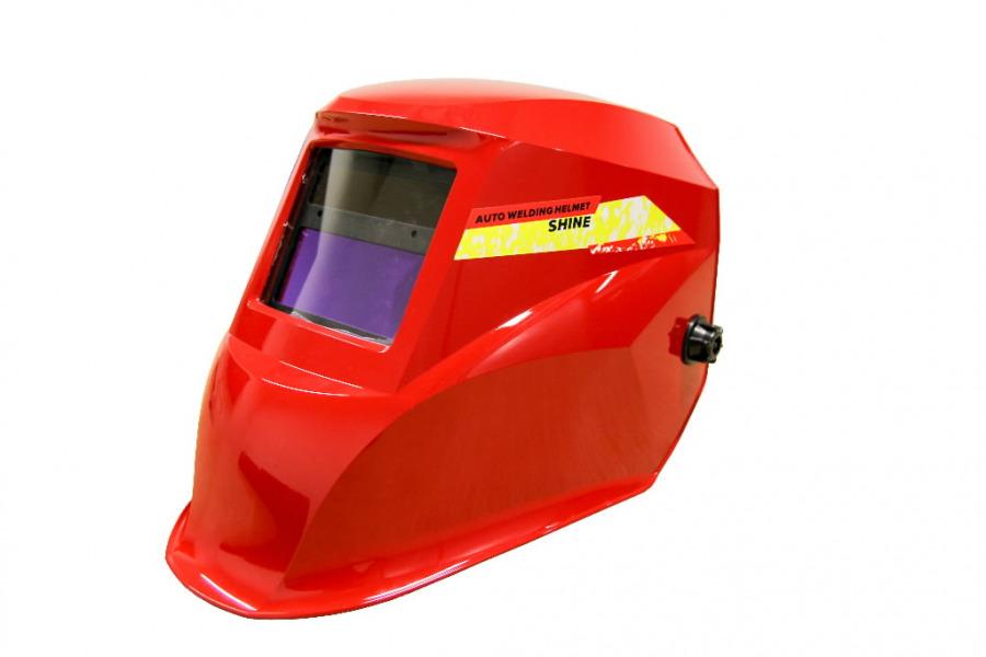 Keevitusmask kmpl isetumenev DIN 9-13 Shine-5000, punane