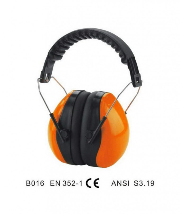 Kõrvaklapid, oranžid, SNR27, reguleeritavad