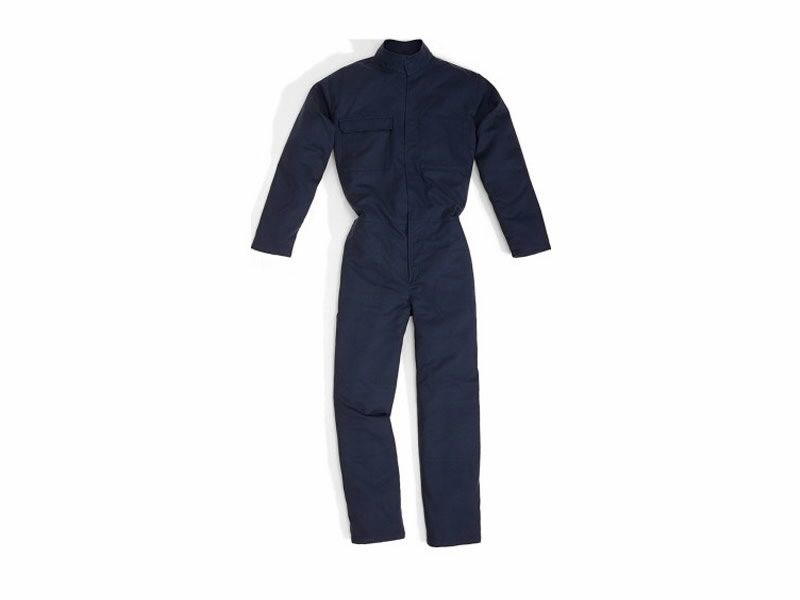 COTTON BORNEO WORKING OVERALL NAVY BLUE XL