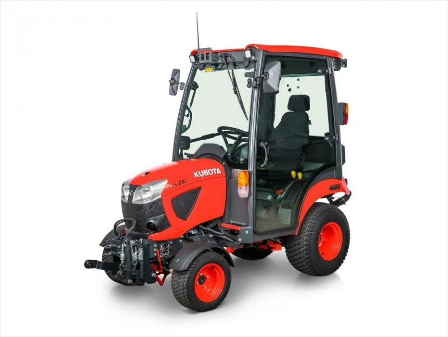 Kompaktiškas  BX231 traktorius (su kabina), Kubota