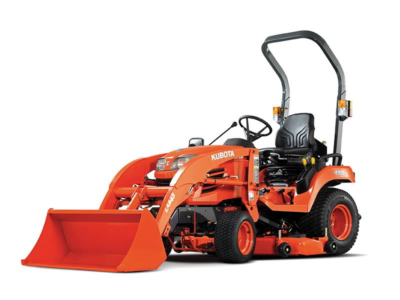 Traktor Kubota BX231 turvaraamiga