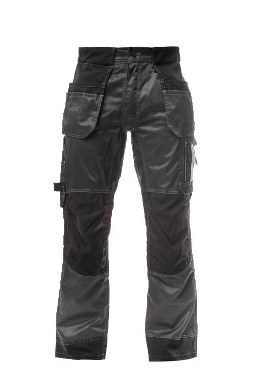 Tööpüksid ripptaskutega  tumehall/must 50, Stokker