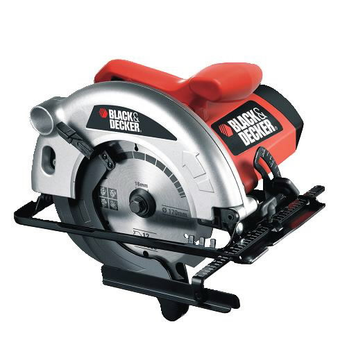 Rankinis diskinis pjūklas CD601 1100W 55 mm, Black&Decker