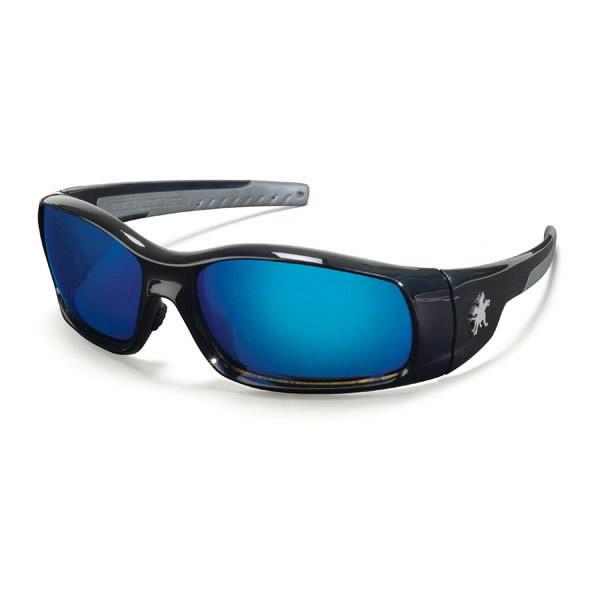 Kaitseprillid Swagger, must raam, sinine-peegel, MCR Safety