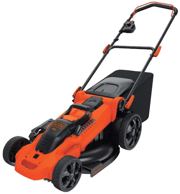 Cordless mower CLMA4820L2 / 36 V / 48 cm / 2x2 Ah batteries, Black&Decker