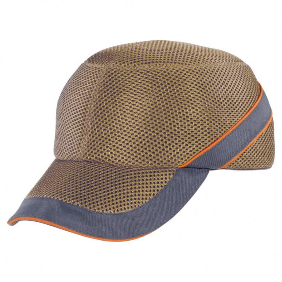 Löögikindel müts Air Coltan beež/hall, reguleeritav, Delta Plus