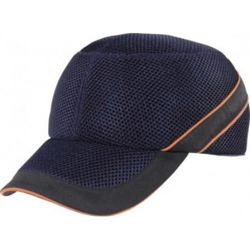 Löögikindel müts Air Coltan tumesinine/must, reguleeritav, Delta Plus