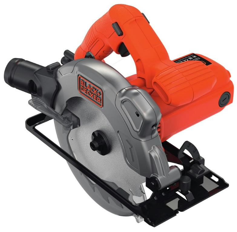 Ketassaag CS1250L / 66 mm / 1250W, Black&Decker