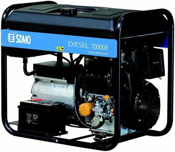 elektrigeneraator DIESEL 10000 E XL C, SDMO