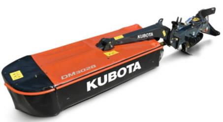 Taganiiduk  DM 3036, Kubota
