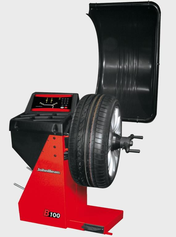 Elektroninės ratų balansavimo staklės B100, , John Bean