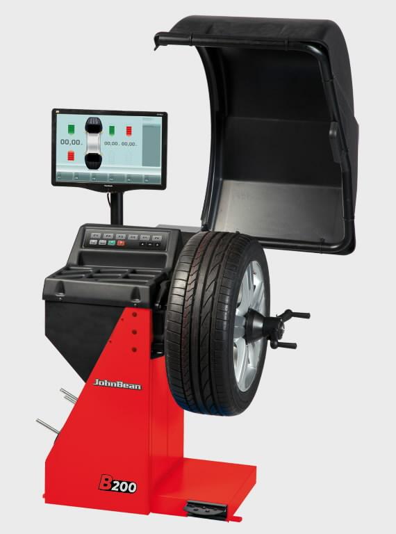 Elektroninės ratų balansavimo staklės B200S , John Bean