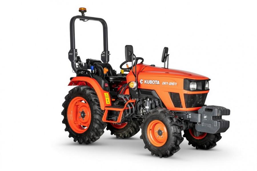 Traktorius  EK1-261, Kubota
