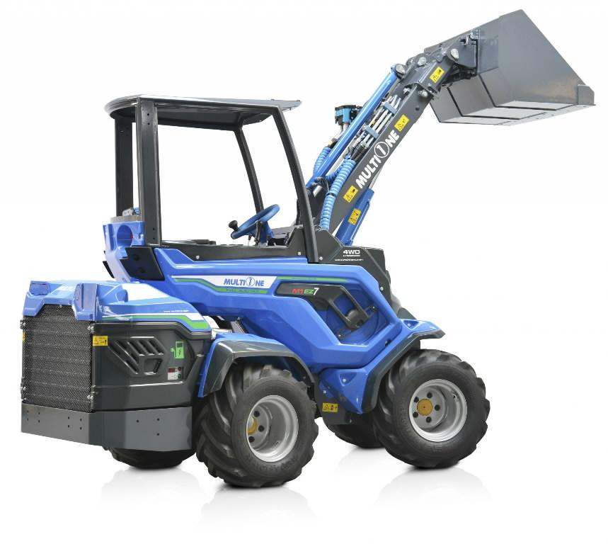 Universālais traktors Multione EZ7 100% Elektro, MultiOne