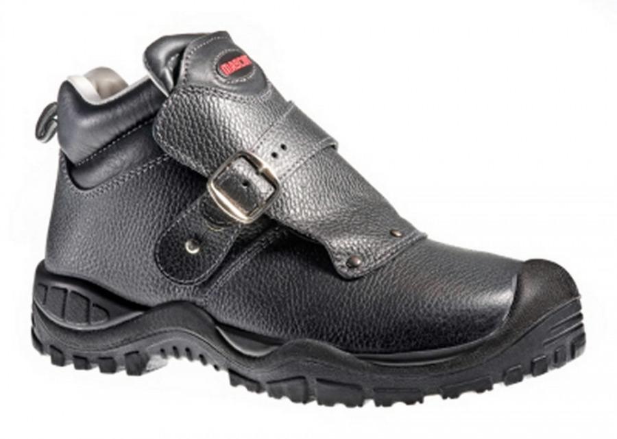 Boron batai suvirintojui S3 SRC HRO juodi, Mascot