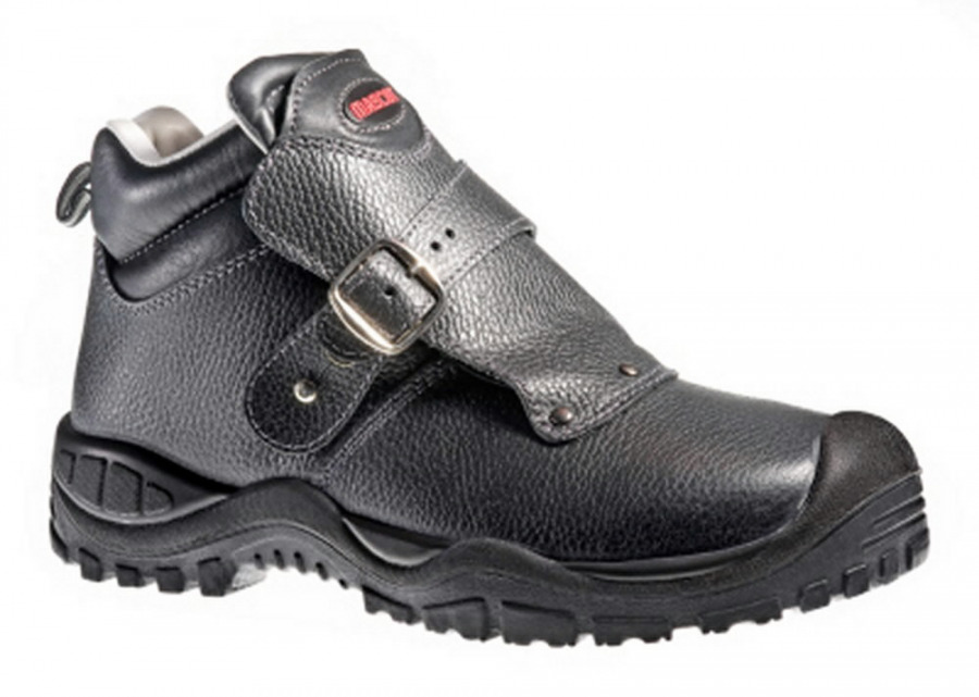 Boron batai suvirintojui S3 SRC HRO juodi, 44, Mascot