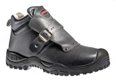 Boron batai suvirintojui S3 SRC HRO juodi, 47, Mascot