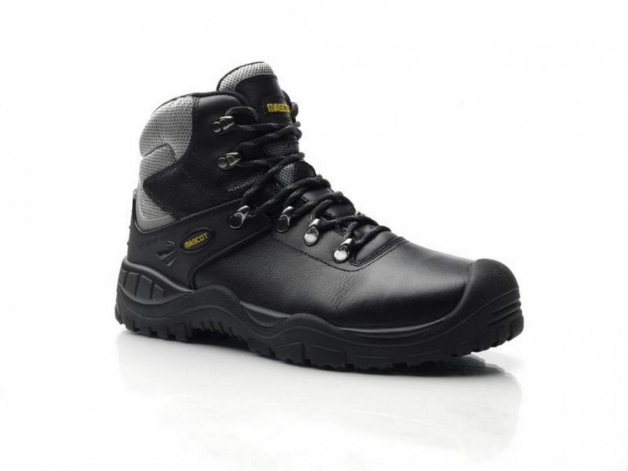 Elbrus darbo batai S3 juodi/geltoni 42, Mascot