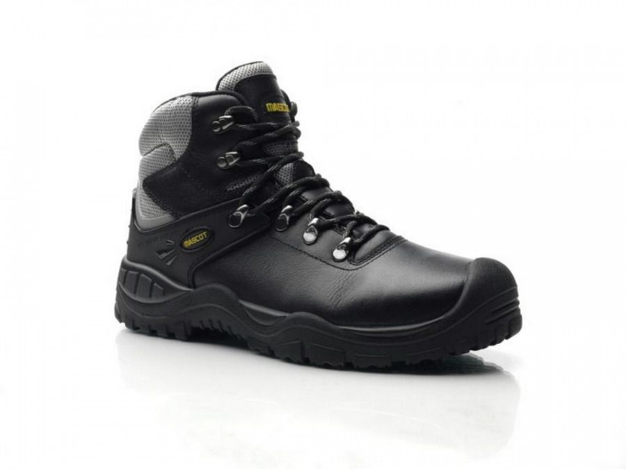 Elbrus darbo batai S3 juodi/geltoni 45, Mascot