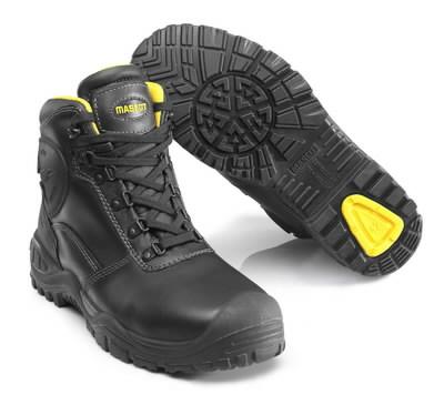 Darba apavi Batura S3, melni/dzelteni, 44, Mascot