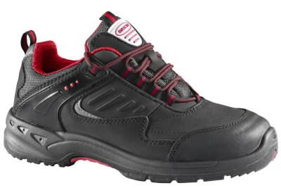 Apsauginiai batai Leone S1P juoda/raudona 42, Mascot
