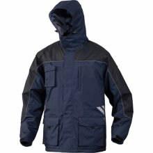 Žieminė striukė su gobtuvu Finnmark mėlyna/juoda M, Delta Plus