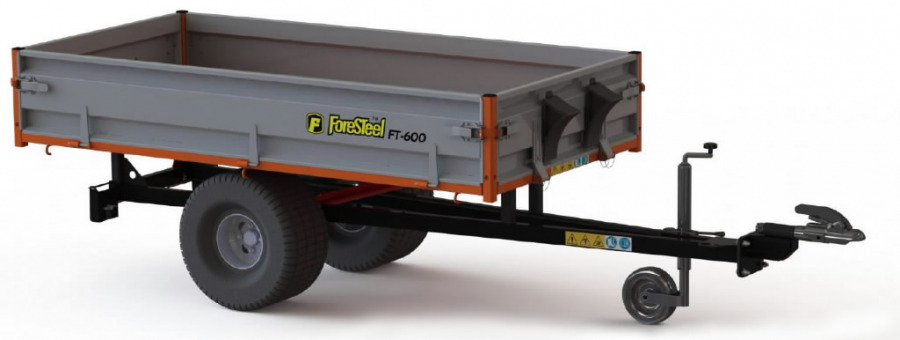 Haagis  FT-600, Foresteel