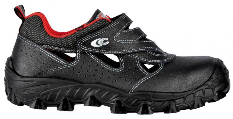 Apsauginiai sandalai  Persian S1P, juoda, Cofra