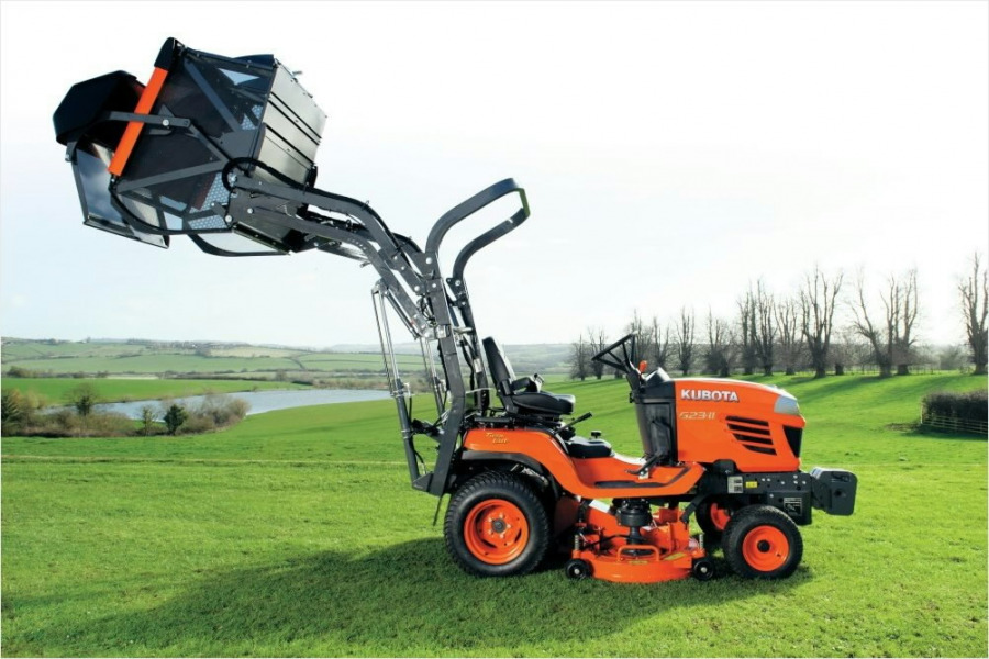 Vejos traktorius  G23 HD, Kubota