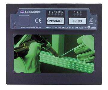 Isetumenev filter 100V 110x90mm (HT-748 maskile), Speedglas 3M