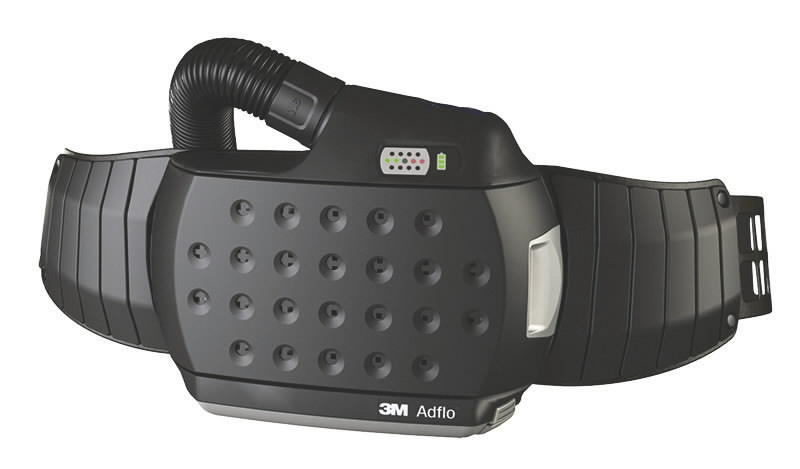 Adflo & QRS õhuvoolik, adapter, vöö, laadija, heavy duty aku, Speedglas 3M