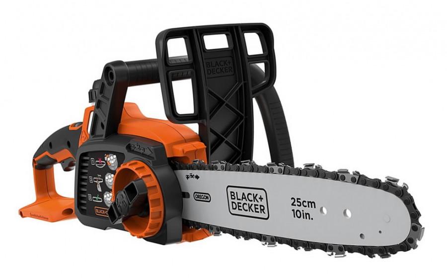 Cordless chainsaw GKC1825LB / 18 V / 25 cm, w.o. batt/charg, Black&Decker