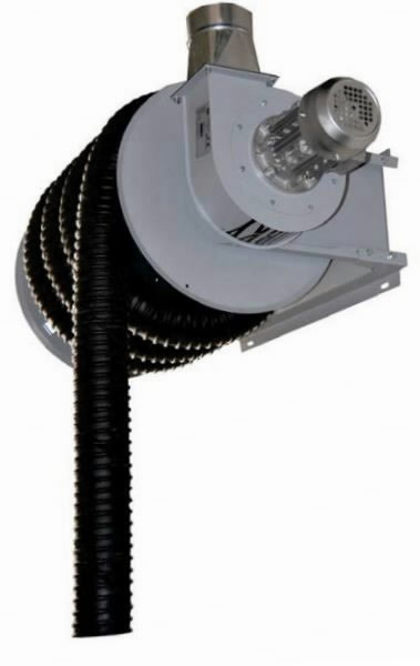 Spring driven hose reel 1HP 10M includes fan, reel & hose, Worky