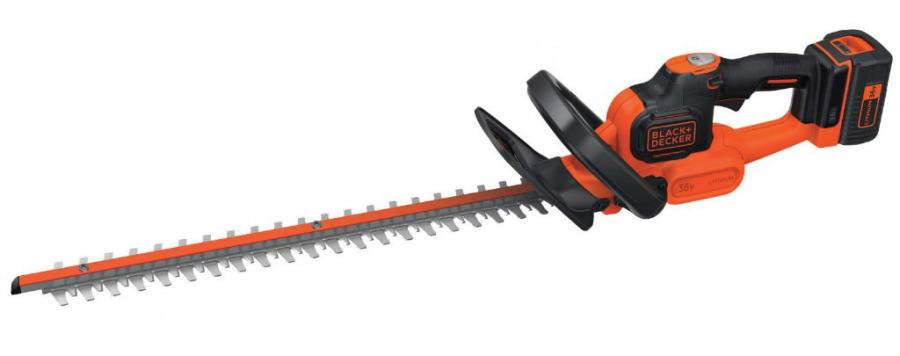 Cordless hedge trimmer GTC36552PC / 36 V / 2 Ah / 55 cm, Black&Decker