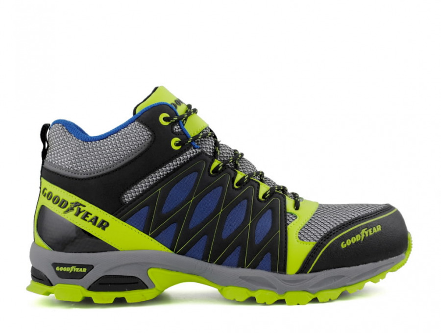 Safety boots 1533 S1P SRA HRO, yellow/navy 47, GoodYear