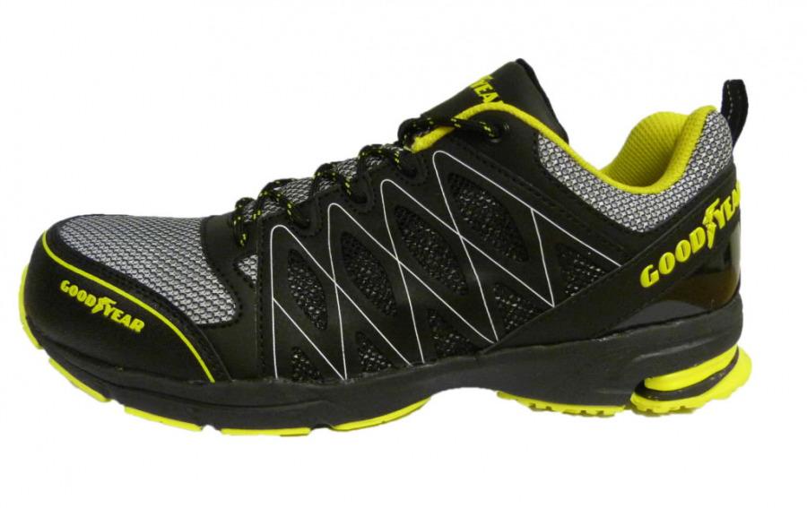 Apsauginiai  batai 1502 S1P SRA HRO, juoda/geltona, GoodYear
