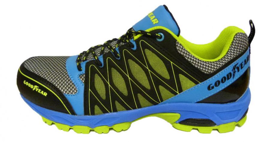 Apsauginiai  batai 1503 S1 SRA HRO, mėlyna/geltona, GoodYear