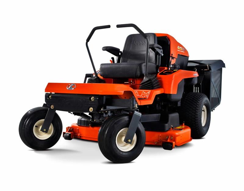 Nulles apgriešanās rādiusa mauriņa traktors Kubota GZD21