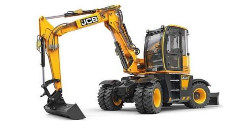 Wheeled excavator  HYDRADIG 110W, JCB