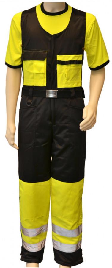 Žieminis kombinezonas HH935, geltona/ juoda, d 56, Other