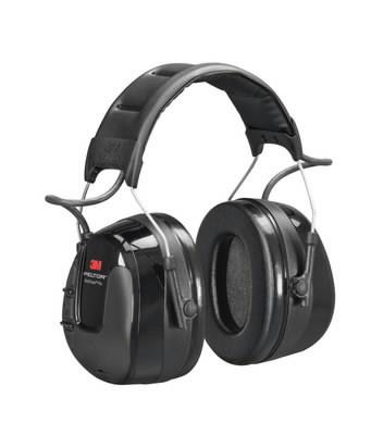 Apsauginės ausinės su integruotu FM radiju WorkTunes Pro UU004690697, 3M