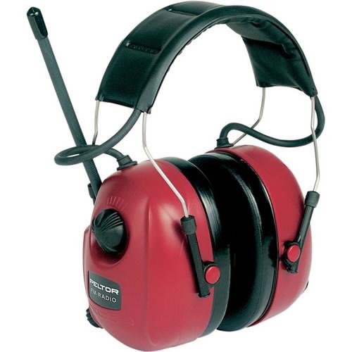 Apsauginės ausinės su integruotu FM radiju HTRXS7A, 3M