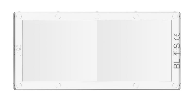 Dioptrinė linzė 2,0 (107x51mm) skaidri WH70 (6vnt/pak), Jackson