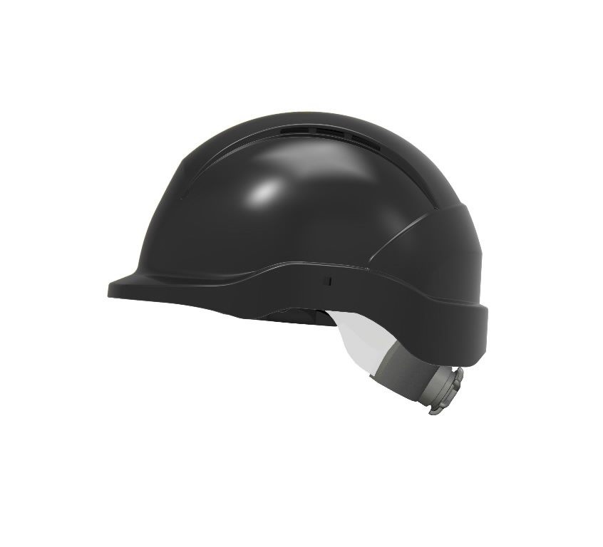 Hard hat, black for welding mask WH70, Jackson